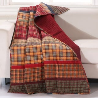 Gold Rush Quilted Throw