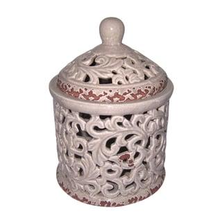 Classic Ivory Jar