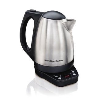 Hamilton Beach 1500W 1.7 L Variable Temp Kettle Electric Cordless
