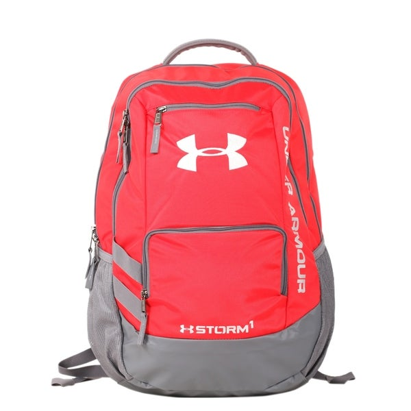 94fb4ef0af Shop Under Armour Red Hustle II Backpack - Free Shipping Today ...