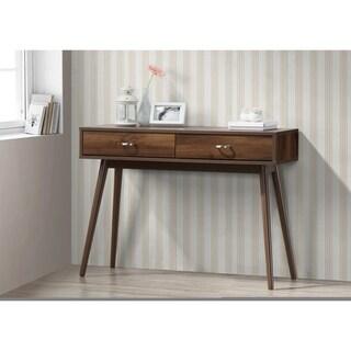 Montage Mid-Century Desk with Drawers/Walnut
