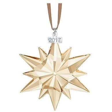 aa3c0a421 Shop Swarovski SCS Christmas Ornament - Annual Edition 2017 - 5268827 -  Free Shipping Today - Overstock - 17839849