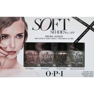 OPI Soft Shades 4-piece Mini Nail Lacquer Set