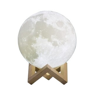 LED Moon Lamp 3D Print USB LED Night Light Moonlight Touch Sensor Color Changing Kids Gift