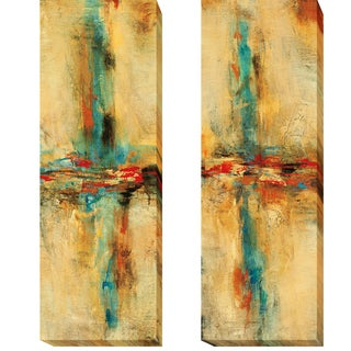 Equilibrio I and II by Nancy Villareal Santos 2-piece Gallery-Wrapped Canvas Giclee Art Set