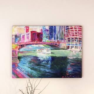 Copper Grove Richard Wallich 'Chicago 2' Canvas Art