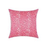 Porch & Den Greenpoint Kingsland Indoor/ Outdoor Leopard Hot Pink 20-inch Throw Pillow
