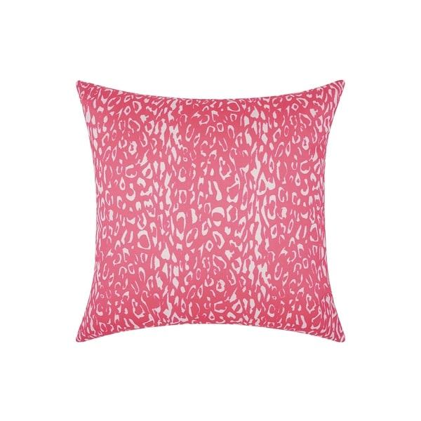 Porch & Den Kingsland Indoor/ Outdoor Leopard Hot Pink 20-inch Throw Pillow