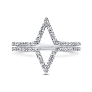 10K White Gold 1/3ct TDW Diamond Fashion Ring (G-H, I2-I3)