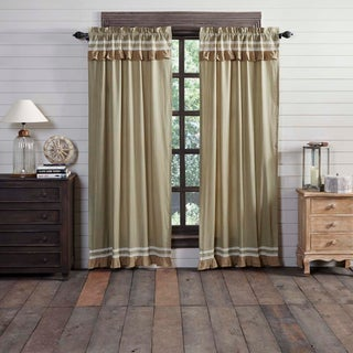 "Kendra Stripe Lined Panel Set - 84"" x 40"" (3 options available)"