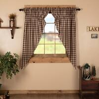 "Rory Lined Prairie Curtain Set - 63"" x 36"""