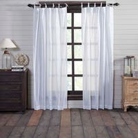 Nora Tie Top Curtain Panel Pair