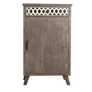 Hillsdale Furniture Artesa Low Wine Bar Cabinet, Brown Gray