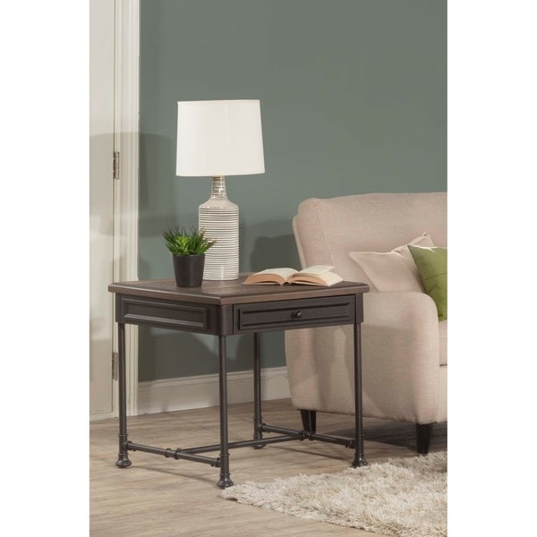 Hillsdale Furniture Casselberry End Table , Walnut