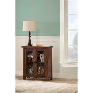Hillsdale Furniture Bayside Two Door Cabinet, Rustic Mahogany