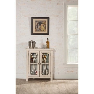 Hillsdale Furniture Bayside Two Door Cabinet , Antique White