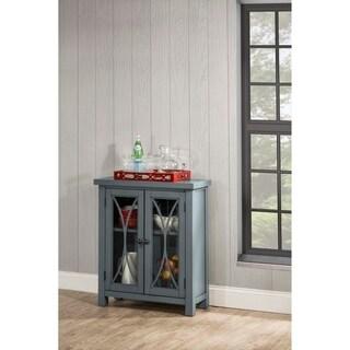 Hillsdale Furniture Bayside Two Door Cabinet, Robin Egg Blue