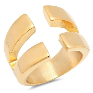 Piatella Ladies Forked Cocktail Ring In 2 Colors