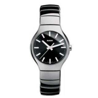Rado True Silver -Tone Ceramic Unisex Watch R27656162