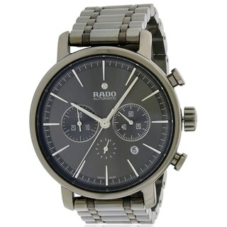 Rado DiaMaster R14076112 Grey Ceramic Automatic Chronohraph Men's Watch