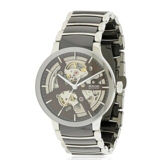 Rado Centrix Steel and Ceramic Automatic Mens Watch R30179302