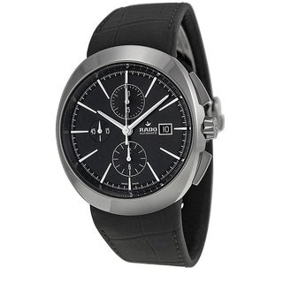 Rado D-Star Chronograph Automatic Leather Mens Watch R15556155