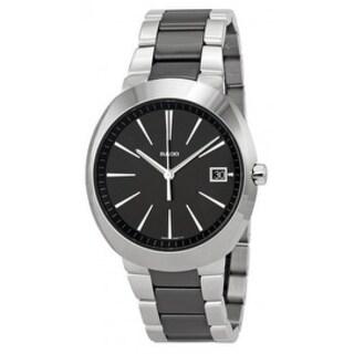 Rado D-Star XL Stainless Steel Black Ceramic Mens Watch R15943162