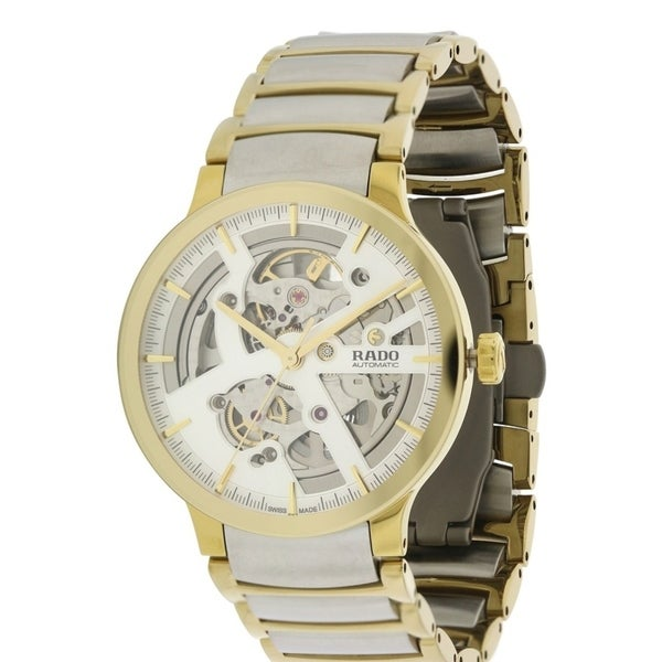 d022c8ad6cd2 Shop Rado Centrix Automatic Two-Tone Mens Watch R30180113 - Free Shipping  Today - Overstock - 17847275