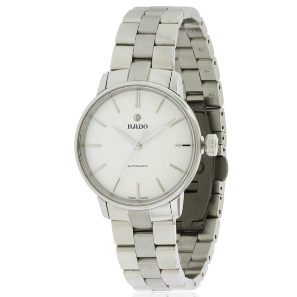 Shop Rado Coupole Classic Automatic Stainless Steel Ladies Watch R22862013  - Free Shipping Today - Overstock - 17847297 364482423a