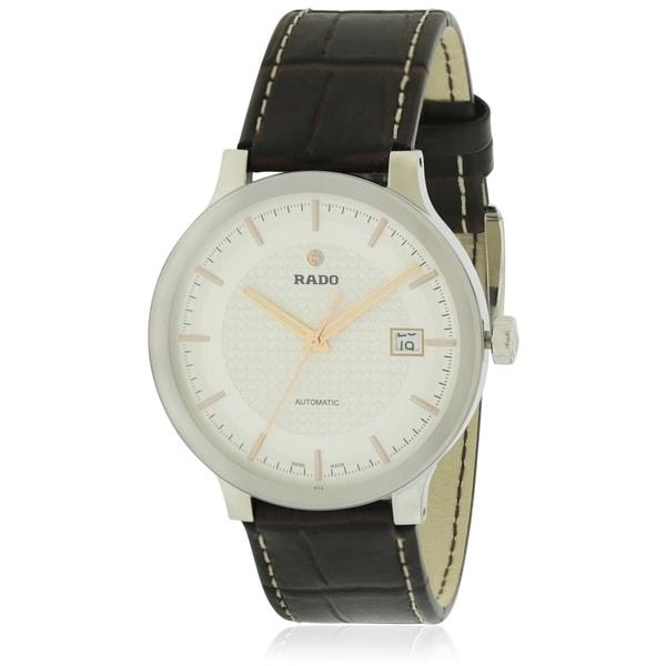64de05322e99 Shop Rado Centrix Automatic Leather Mens Watch - Free Shipping Today -  Overstock - 17847300