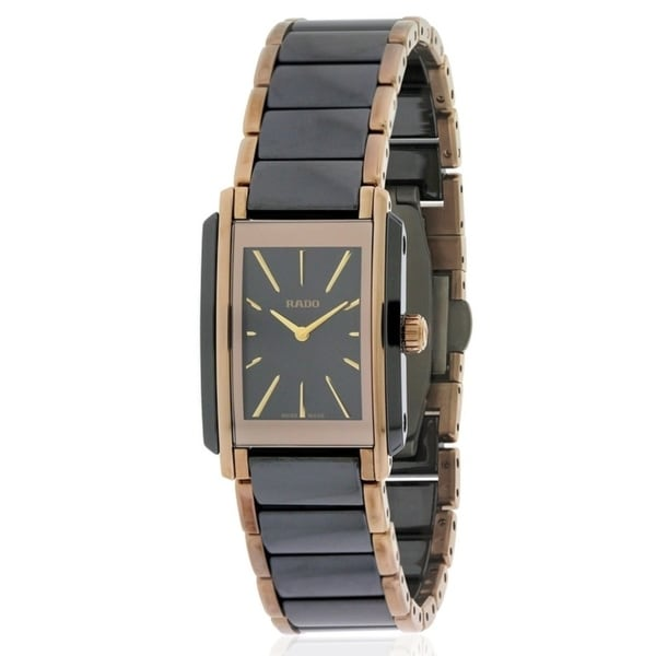 e82963d14 Shop Rado Integral Two-Tone Ladies Watch R20225152 - Free Shipping Today -  Overstock - 17847302