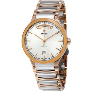 Rado Centrix Day-Date Two-Tone Mens Watch