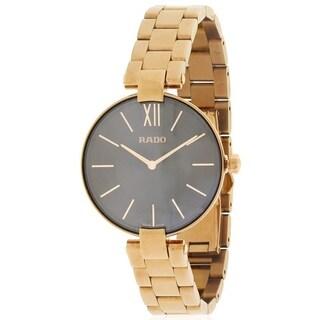 Rado Couploe Rose Gold-Tone Stainless steel Ladies Watch R22851163|https://ak1.ostkcdn.com/images/products/17847307/P24035977.jpg?_ostk_perf_=percv&impolicy=medium