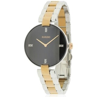 Rado Coupole Diamond Two-Tone Ladies Watch R22850703
