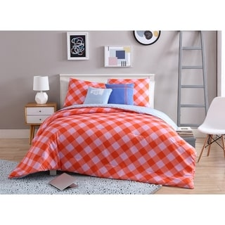 VCNY Home Checkered 5-piece Reversible Comforter Set