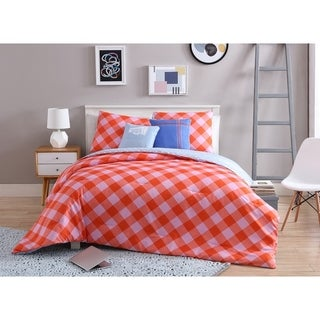 VCNY Home Checkered Reversible Comforter Set