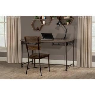 Hillsdale Furniture Casselberry Desk And Chair Set, Walnut
