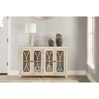 Hillsdale Furniture Bayside Four Door Cabinet , Antique White