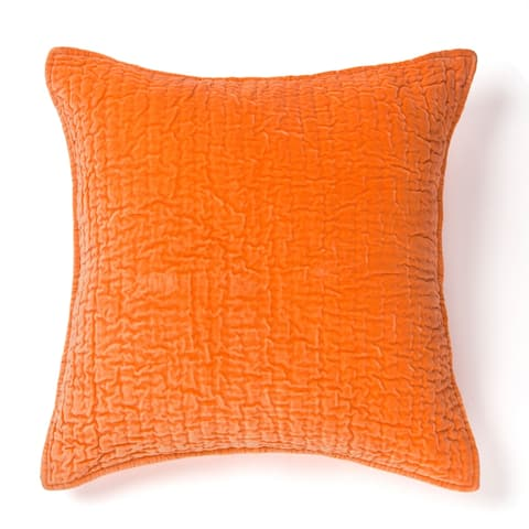 Evan Cotton Velvet Decorative Throw Pillow