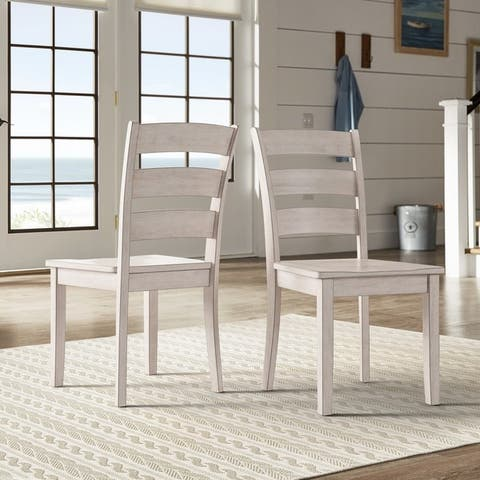 Wilmington II Ladder Back Dining Chairs (Set of 2) by iNSPIRE Q Classic
