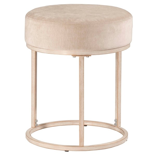 Hilale Furniture Swanson Vanity Stool White