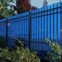 ALEKO 6'X150' Sample Eye Fence Privacy Outdoor Backyard Blue Screen