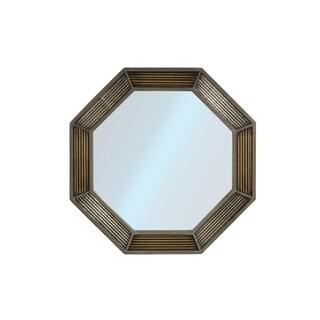 Hillsdale Furniture Bayshore Grey Octagonal Wall Mirror