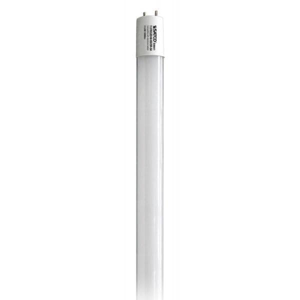 Satco 8W LED T8 - Medium Bi-Pin Base - 4000K - 1250 LM