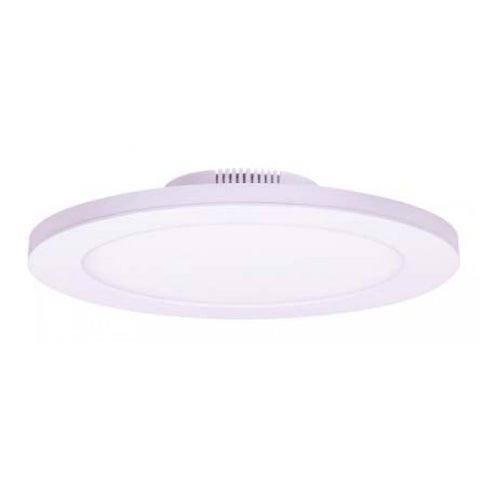 "Satco 12W 7"" Flush Mount LED Fixture - 3000K - White Finish - 120/277V"