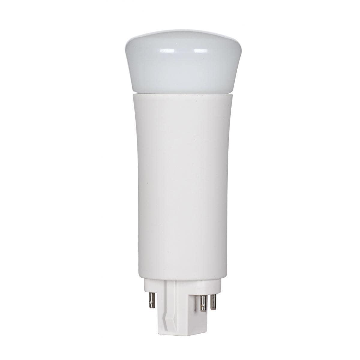 SATCO 9W LED PL 4-Pin - 3000K - G24q Base - 120 Deg Beam ...