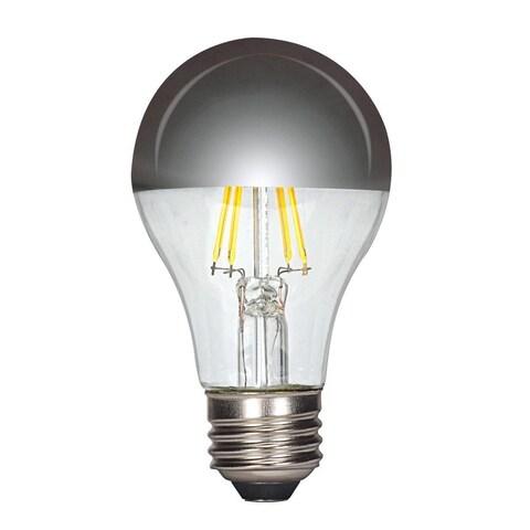 Satco 6.5W LED A19 - Silver Crown - Medium Base - 2700K - 650 LM - 120V