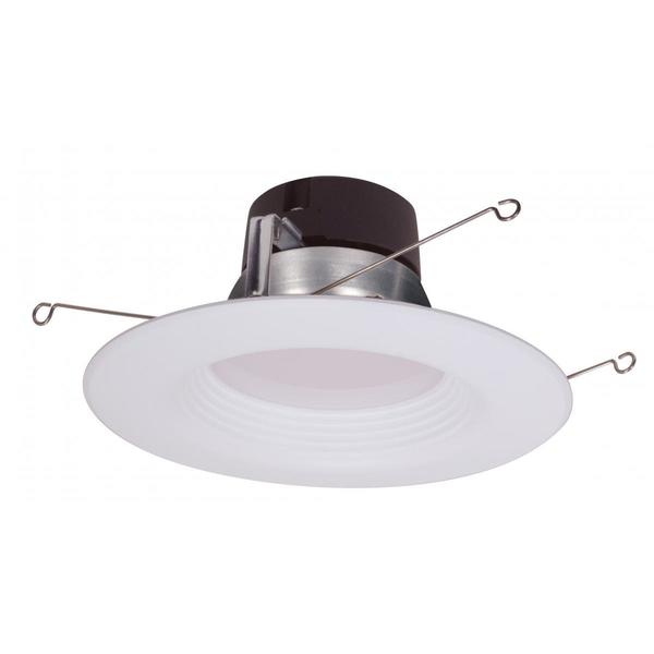 "Satco 11.5W 5"" - 6"" LED Downlight Retrofit - 4000K - 120V - Dimmable"