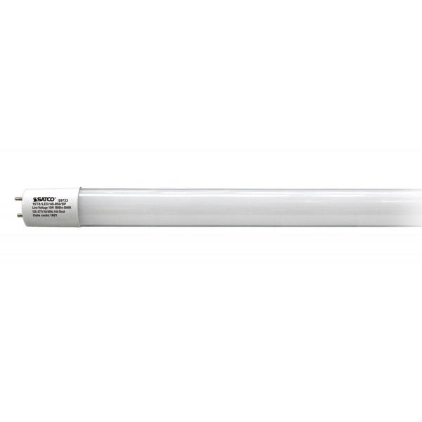 Satco 15W LED T8 - 4 FT Fluorescent Tube Replacement - Bi-Pin Base - 5000K
