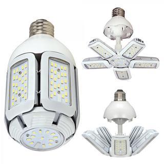 Satco 40W - LED HID Replacement - 2700K - Mogul Base - Adjustable Beam Angle - 100-277V